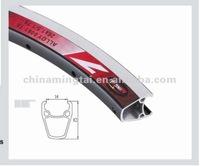 Alloy rim for bike 700c aluminum 6061-T6 anodized