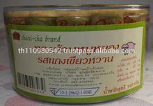 crispy roll green curry fvr. with shredded pork 140 gram