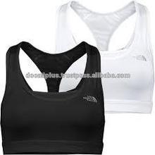 Custom plain Black Sports Bra