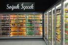 Aluminium Frame Beverage display cooler glass door