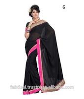Indian Wholesale Clothing / Wholesale Indian Saree / Border Design Saree