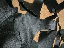 Furniture leather scraps for sale