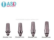 Dental Abutment Straight Standart Platform for Dental Implant
