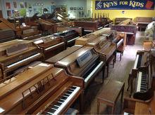 Assorted Console Pianos