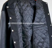 varsity jacket inside quilt
