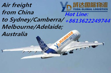 Air freight from China to Australia