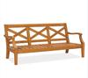garden sofas-three seat sofa,OUTDOOR GARDEN SOFAS,TEAK WOOD SOFAS