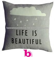100% cotton wholesale cushion covers