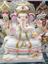 Marble Ganesh Idol, Stone Marble Ganesh Murti