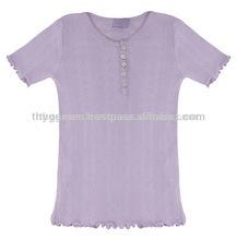 Girl bella rib t shirt