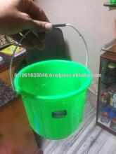 Plain color plastic bucket