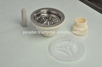 Kitchen sink strainer kitchen sink drain parts high quality 304
