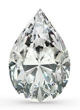 3.00 carat D IF Pear Shape GIA Certified Loose Diamond
