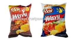 Poca wavy potato snack beef/crab flavor 30G