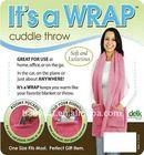 Super soft Fashion & warm wrap scarf for whole sale