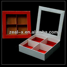 2011 hot sale chocolate and candy paper box with cell