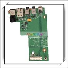 DC Power Board Jack with FireWire 1394/USB/Audio ports for Dell Latitude E5500 -83002704