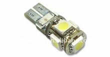 CANBUS 5050 CHIPLED Auto bulb T10-5SMD canbus Auto LED bulbs