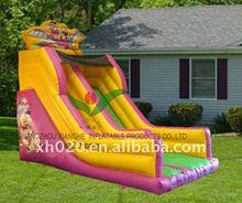 Huge discount hot saler indoor or outdoor commercial grade vinyl tarpaulin in Europe style inflatable slide