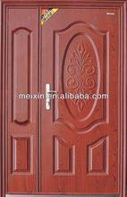Exterior Security Steel double Leaf Door
