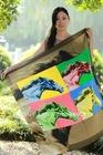 Digital printing silk scarf