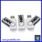 8GB Swivel usb flash drive,white usb pen drive sample available