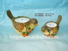ceramic bird cup
