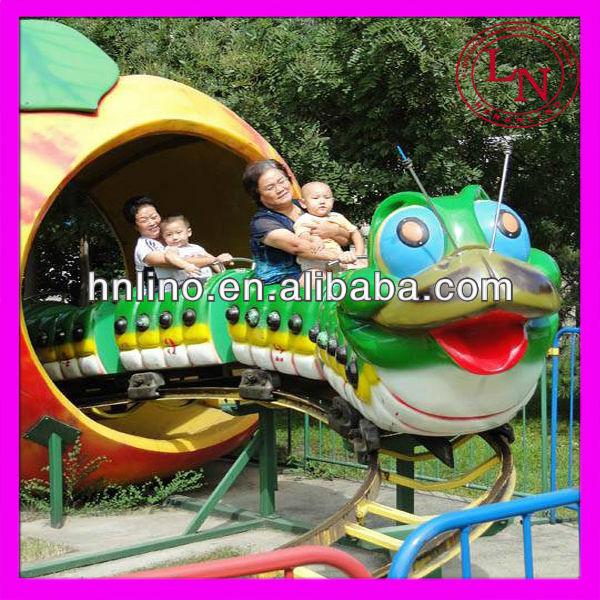 Popular! big worm amusement park electric train