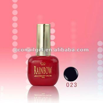 Rainbow uv gel gel polish one step gel