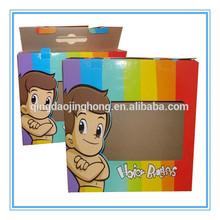Printed paper color window box