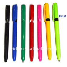 Full colour twist promotional top pen 625