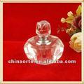 Cristal clair bouteilles de parfum en forme de citrouille pour des cadeaux d'affaires