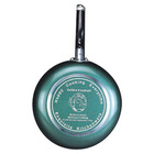 Silk screen bottom Frying Pan