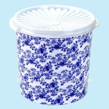Air-tight food plastic container