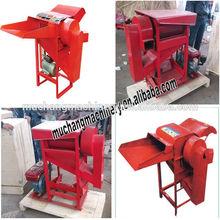 Portable paddy thresher machine