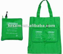 Folding Purse Polyester Shopping Bag