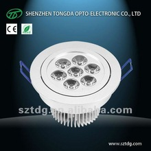 2012 ce rohs 9w indoor led surface downlight