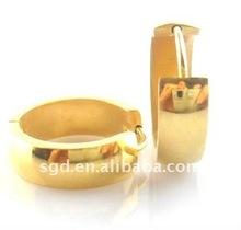 2012 Hot Earrings ,Gold Plated Huggies (KCXY1022)