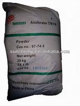 First grade rubber accelerator TMTM powder/oil powder/granular