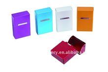 Aluminium cigarette case