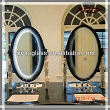 Anti fog shower mirror pet film with hotel mirror