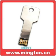 Promotional gift metal usb flash key secure