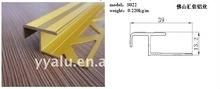 aluminium ceramic tile trim, floor moulding,carpet trim and tile edge