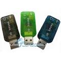 2.0 usb tarjeta de sonido externa 3d 5.1 adaptador de audio para pc