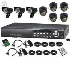 8CH H.264 DVR 1000G 1/3 SONY 540TVL Standalone Hotel DVR System