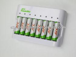 8pcs AA/AAA Ni-MH Battery Charger