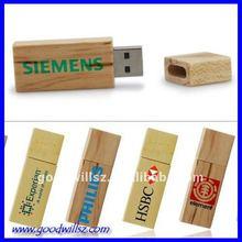 2012 fashion design promotional gift usb 8GB wooden usb