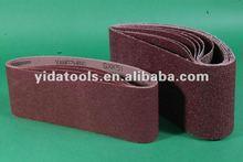 Dry abrasive sanding paper
