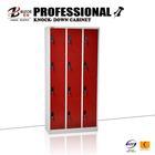 Steel Swing Door Filing Cabinet, Office Lockers, Storage Locker with 12 compartments