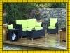 FACTORY HOT SALE NEW DESIGN wicker rattan outdoor sofa set 4pcs garden furniture patio sets sun lounge SCSF-115